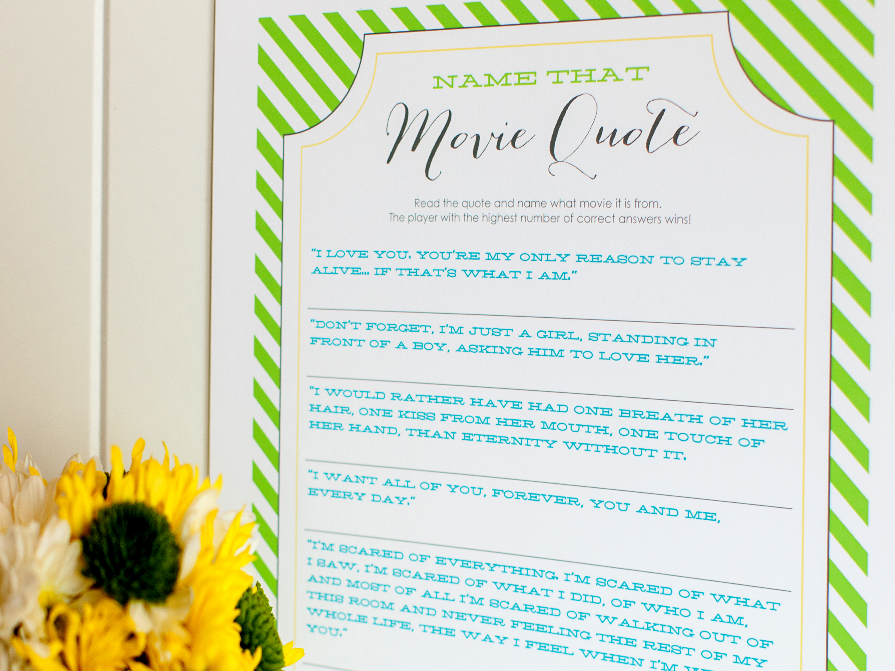 10 Wedding Shower Games And Activities