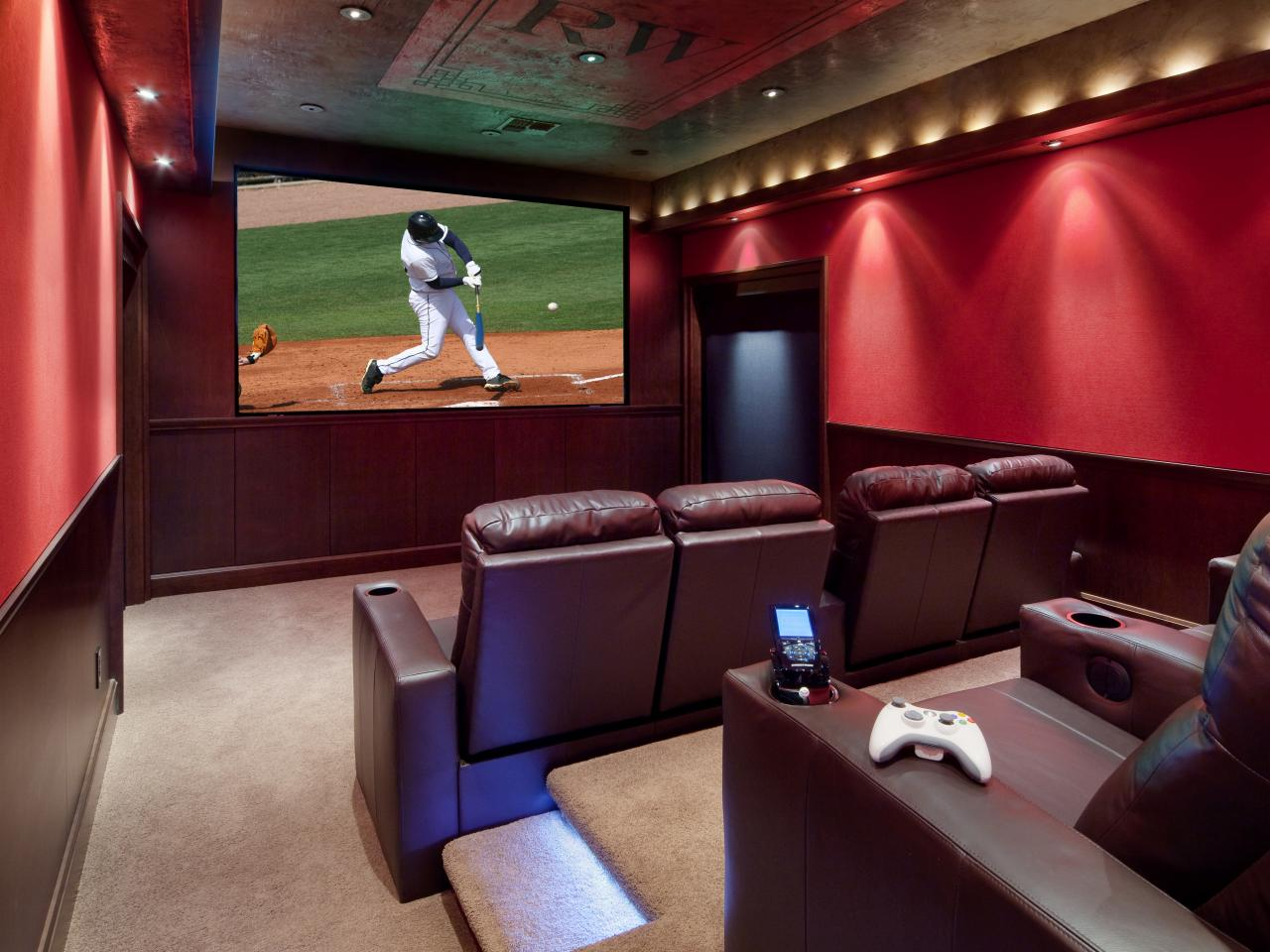 Home Theater Design Ideas Pictures Tips & Options HGTV