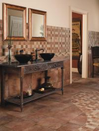 Ceramic Tile Bathroom Floors