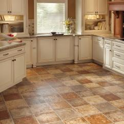 Kitchen Flooring Tiles Champagne Bronze Faucet Vinyl In The Hgtv