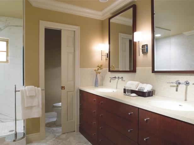 Solid-Surface Bathroom Countertops