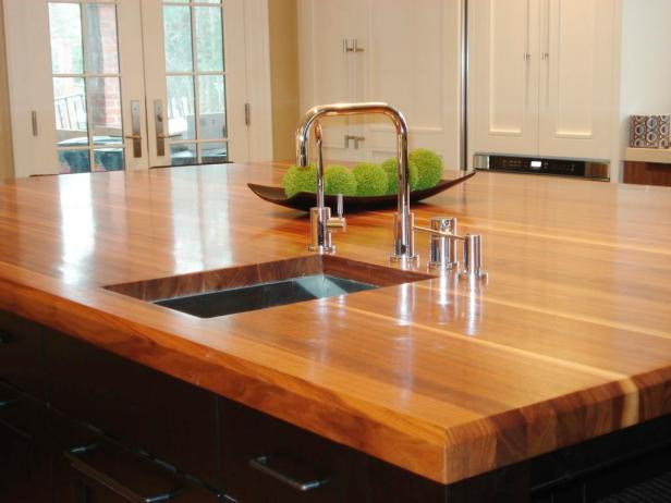 wood countertops kitchen lights for butcher block and hgtv grothouse lumber walnut island countertop
