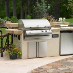 Diy Outdoor Kitchen Kits Fold Down Table Utilities In An Hgtv Great Room Grill Closed