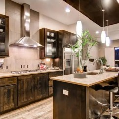 Best Kitchen Designs Trailers Layout Templates 6 Different Hgtv With Rustic Wood Cabinetry