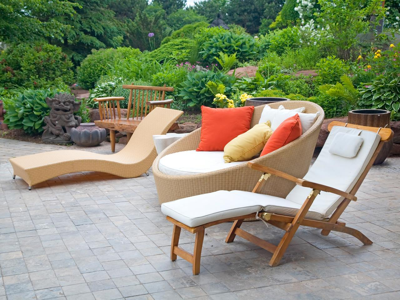 Garden Chair Modern Outdoor Furniture Hgtv