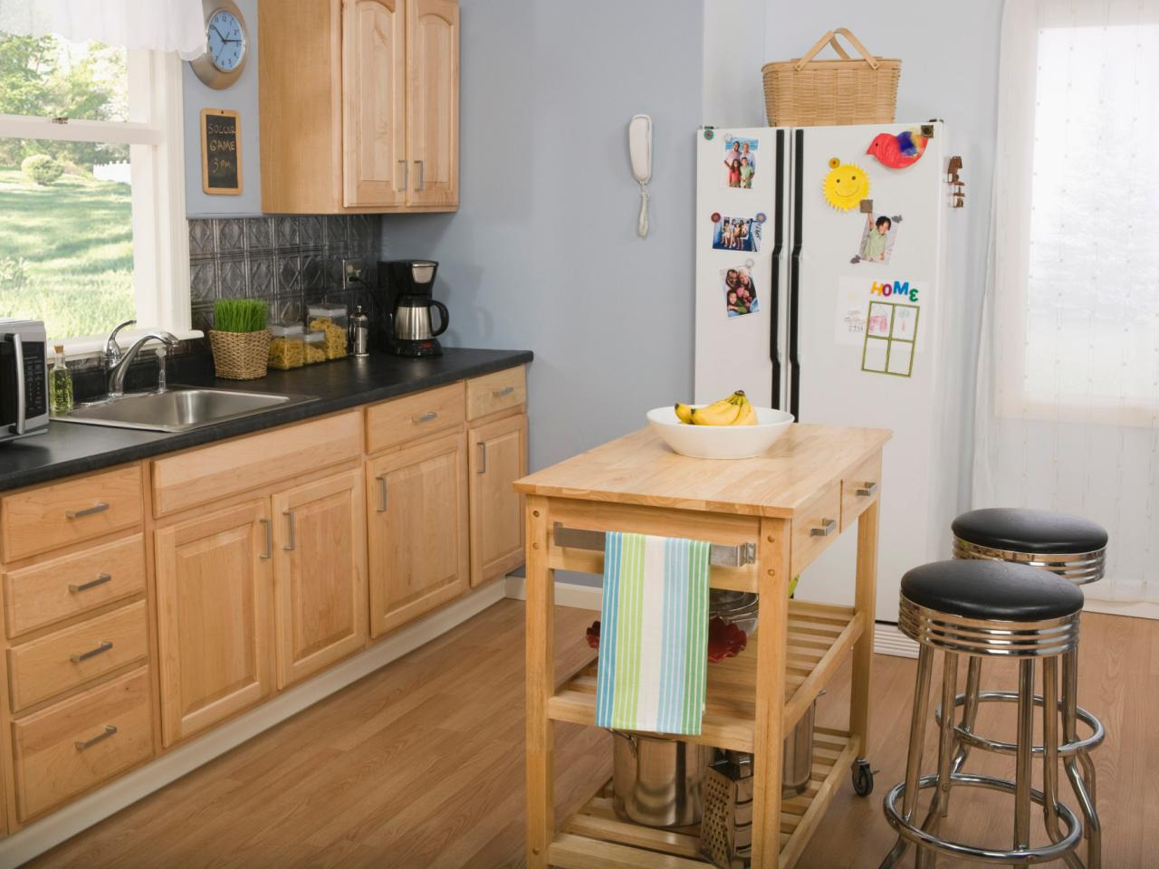 kitchen island breakfast bar pop up electrical outlet for pictures and ideas from hgtv