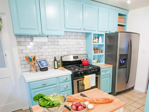 Repainting Kitchen Cabinets Pictures Options Tips & Ideas HGTV