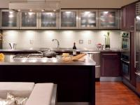 Glass Kitchen Cabinet Doors: Pictures, Options, Tips