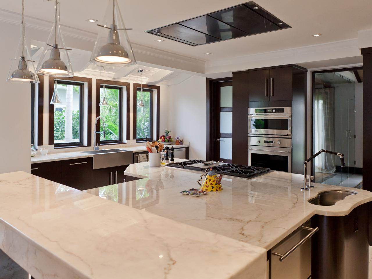 marble kitchen counter caddy countertops pictures and ideas from hgtv
