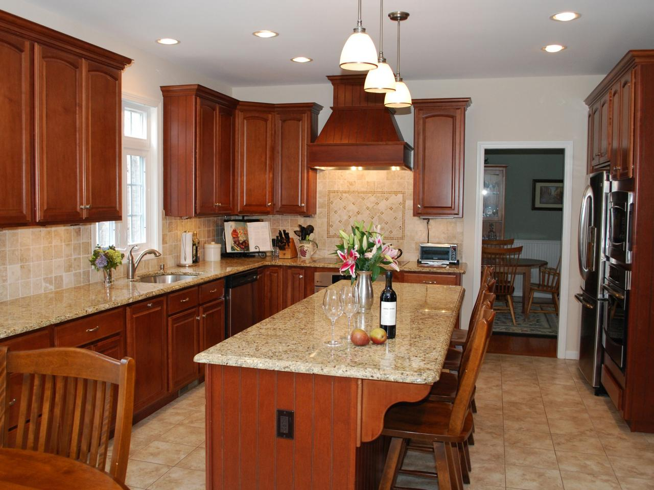 granite kitchen countertops pictures cabinet liner and ideas from hgtv