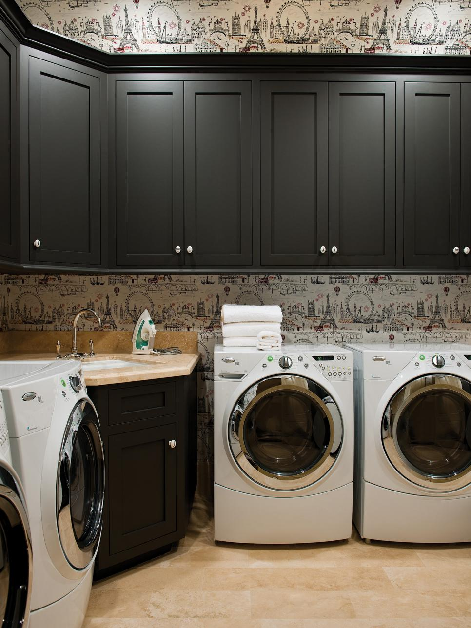 Decor and Storage Tips for Basement Laundry Rooms  HGTV