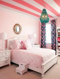 Pretty in Pink Girls' Rooms | HGTV
