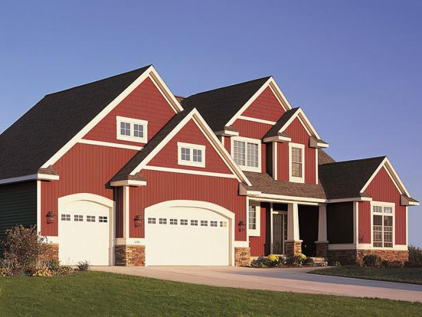 Ranch Style Houses Frame Garage