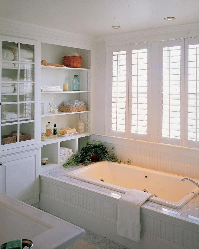 White Bathroom Decor Ideas & Tips From HGTV