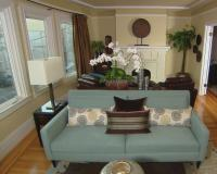 Contemporary Asian Living Room | HGTV