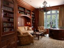 Traditional Home Office Study Room Designs