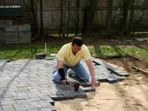 Building Patio With Pavers