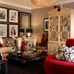 Hollywood Regency Living Room Decorating Ideas L Shaped Couch In Style Get The Look Hgtv Barclay Butera