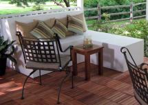 Build Outdoor Patio Bench With Ottoman