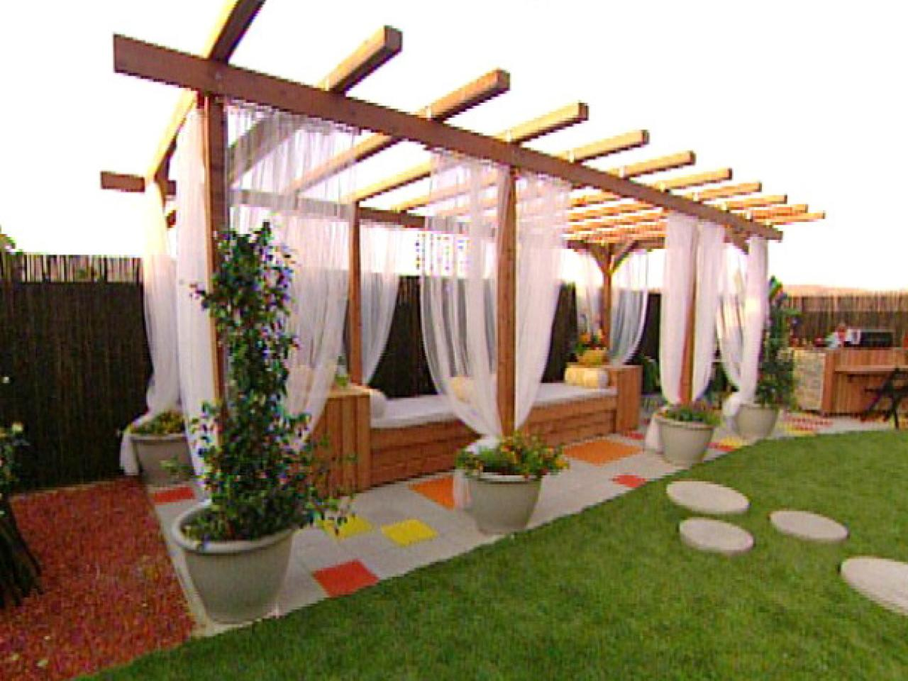 Pergola Designs & How To Build A Pergola HGTV