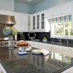 Granite Kitchen Countertops Pictures Cheapest Cabinets Countertop Prices Hgtv Oversized Island With Plenty Of Space
