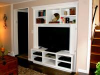 Turn a Closet into a Built-In Entertainment Center | HGTV