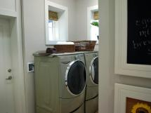 Laundry Room Green Home 2009