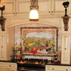 Kitchen Backsplash Murals Swanstone Sinks Vineyard Decor Pictures Ideas And Tips From Hgtv