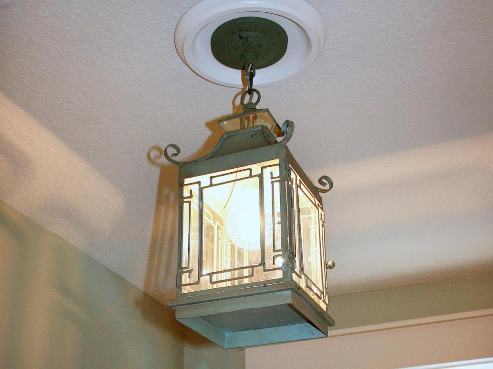 medium resolution of how to complete installation of pendant lantern