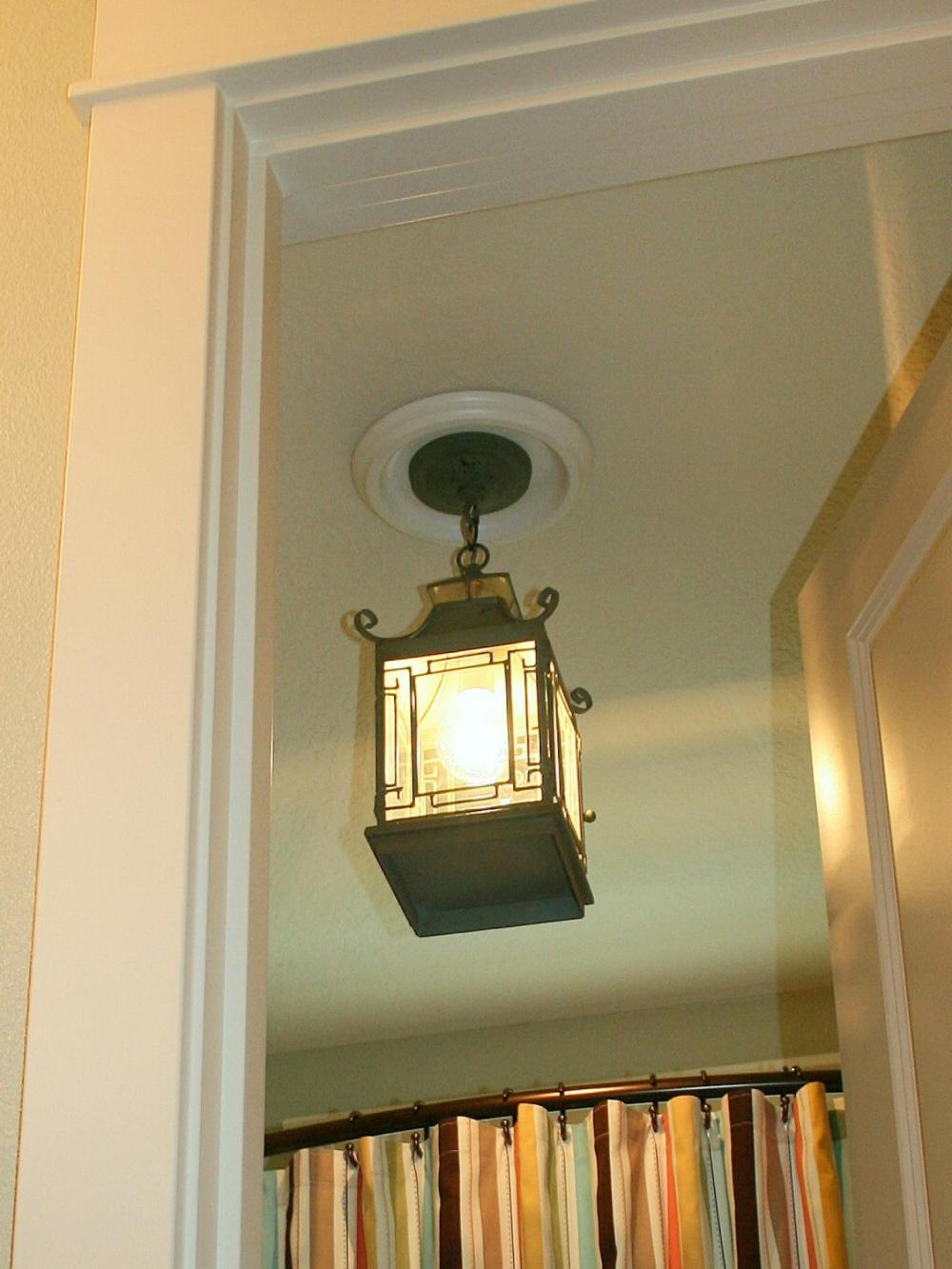 medium resolution of replace recessed light with a pendant fixture