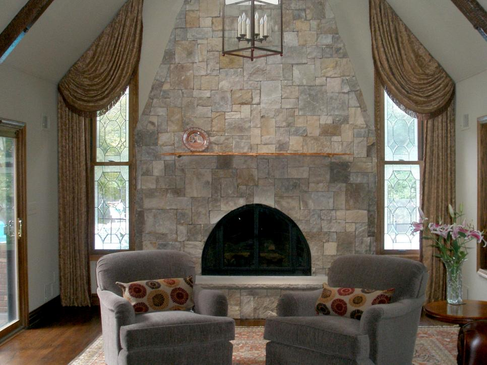pictures of living rooms with stone fireplaces wood false ceiling design for room natural hgtv shop this look