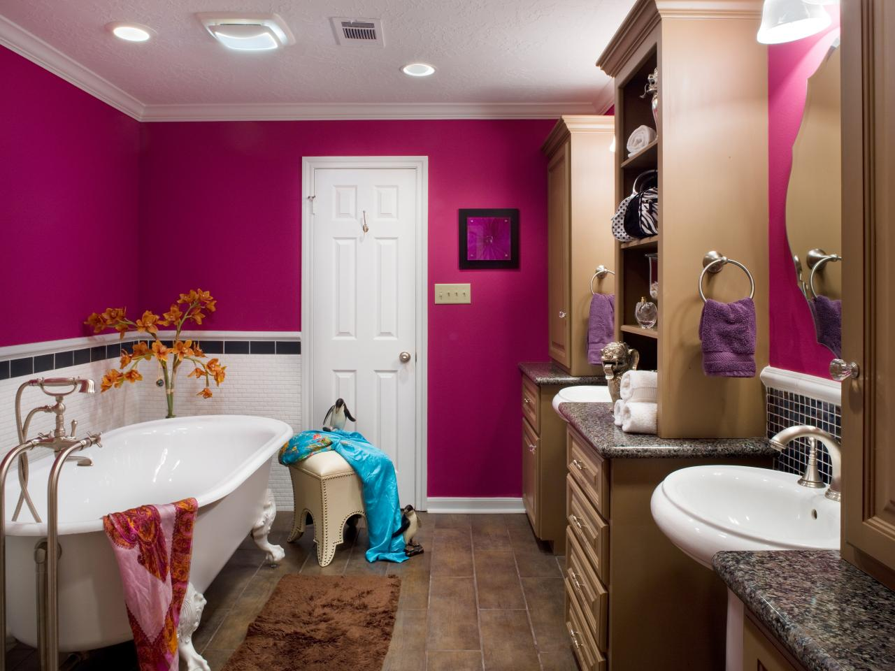 Girls Bathrooms Bathroom Design Styles Pictures Ideas Tips From Hgtv Hgtv