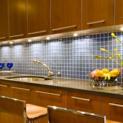 Kitchen Tile Designs Cabinets Greenville Sc Style Your With The Latest In Hgtv Blue Backsplash