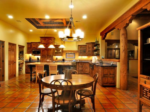spanish style kitchen tiles floor ideas Spanish-Style Tile Kitchen | HGTV