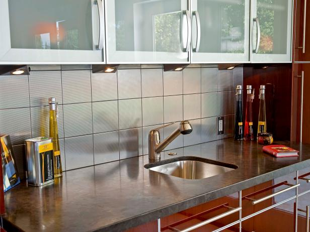 kitchen tile designs paint for cabinets small kitchens pictures ideas tips from hgtv modern sink with red