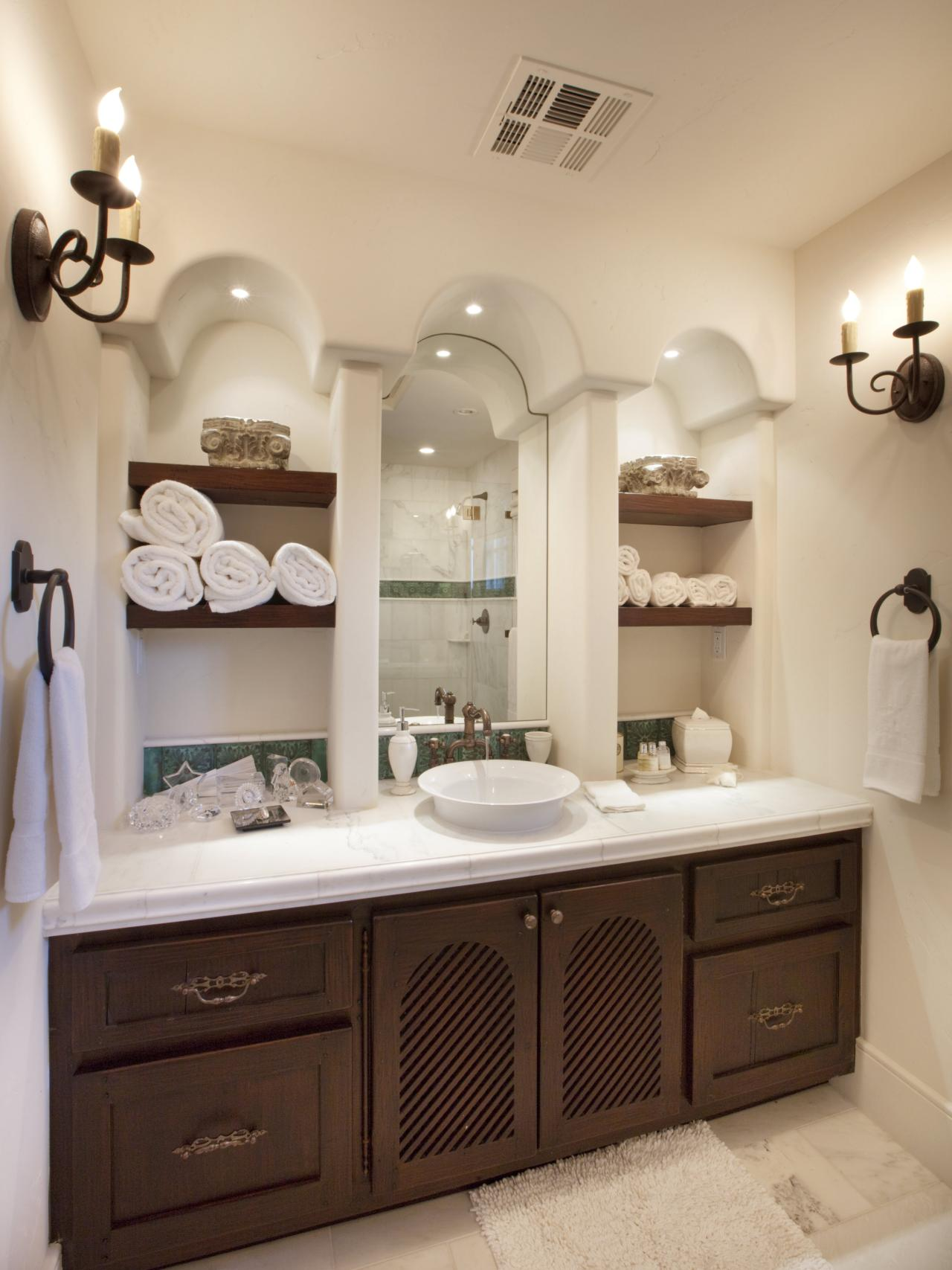 7 Creative Storage Solutions for Bathroom Towels and Toilet Paper  HGTV