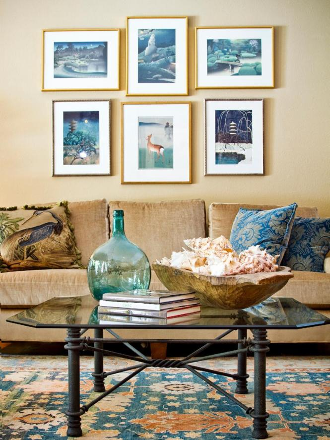 Beach Theme Decor For Living Room And
