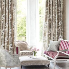 Window Treatment Ideas For Living Room Floor Cushions Treatments Hgtv Photo By Romo