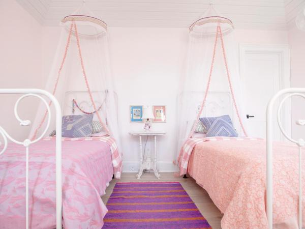Girls Bedroom with Two Beds
