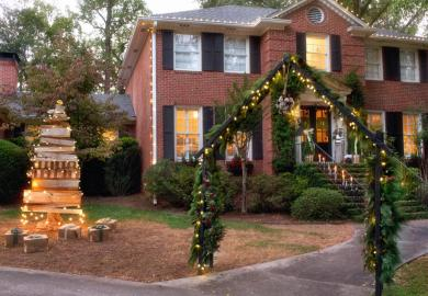 Christmas Holiday Decorating Ideas Styles Pictures