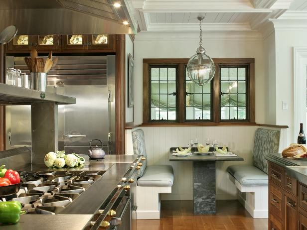 20 Stunning Kitchen Booths and Banquettes  HGTV