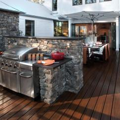 Grill Kitchen Antique Copper Faucet 20 Outdoor Kitchens And Grilling Stations Hgtv Shop This Look