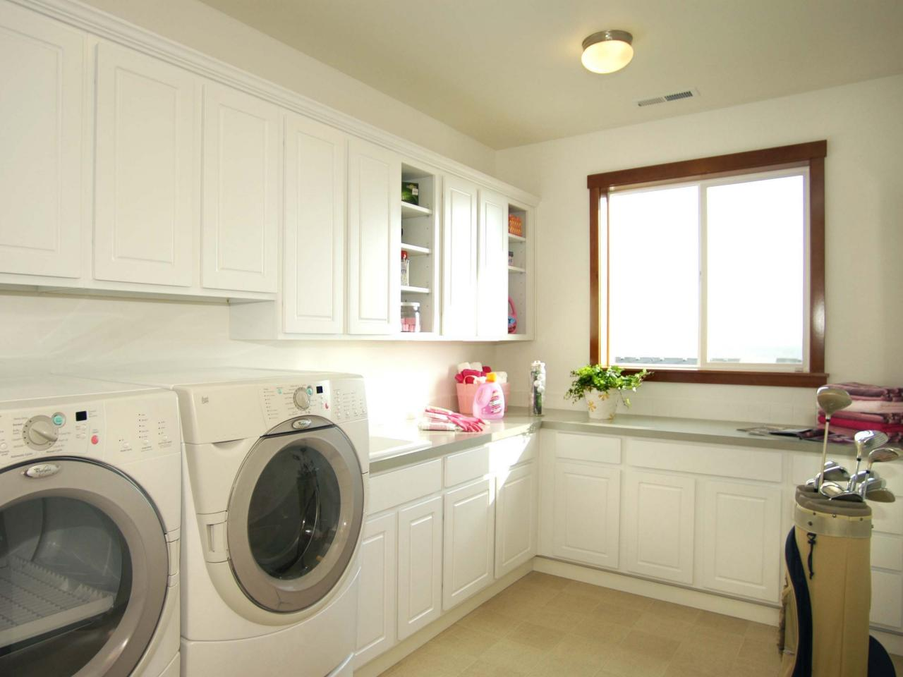 10 Clever Storage Ideas for Your Tiny Laundry Room  HGTVs Decorating  Design Blog  HGTV