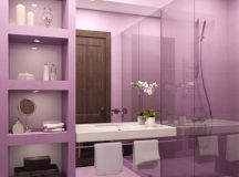 Purple Bathroom Decor: Pictures, Ideas & Tips From HGTV | HGTV
