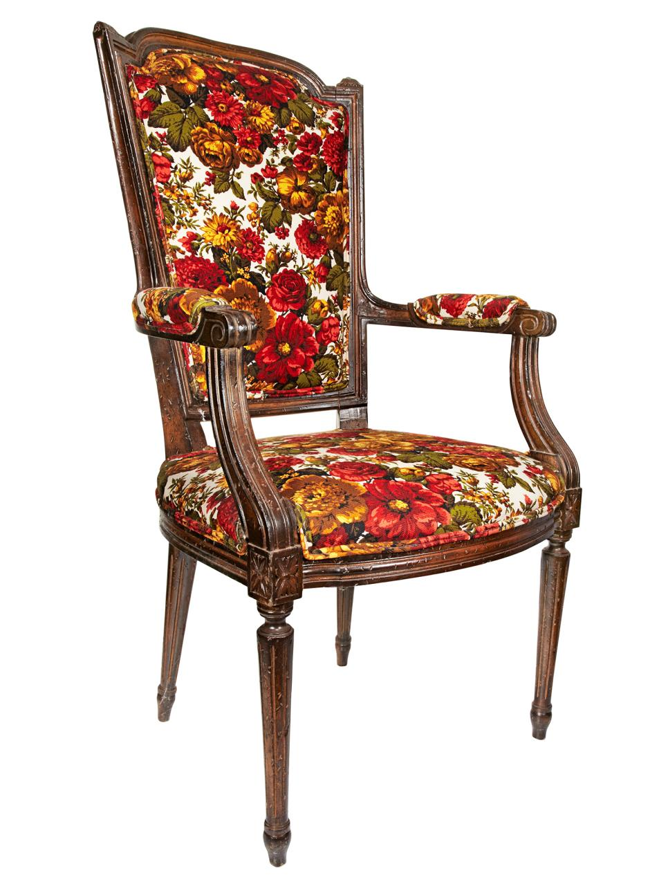 Rehabbed and Reupholstered Chairs  HGTV