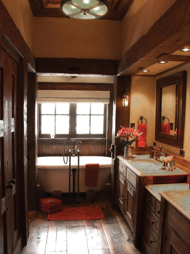 Rustic Bathroom Decor Ideas & Tips From HGTV