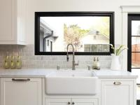 Creative Kitchen Window Treatments: HGTV Pictures & Ideas