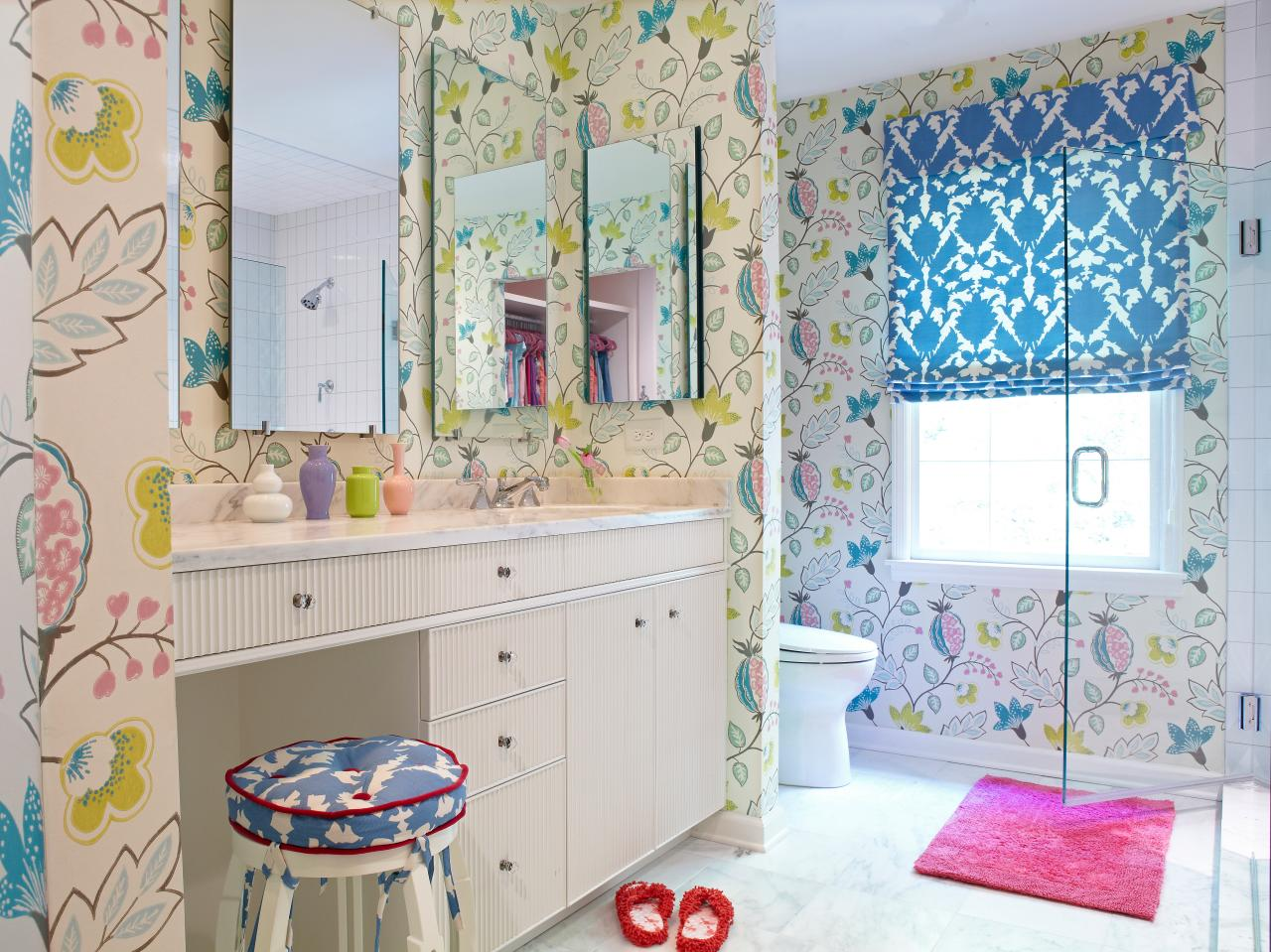 Girls Bathrooms Girl S Bathroom Decorating Ideas Pictures Tips From Hgtv Hgtv