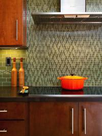 Painting Kitchen Backsplashes: Pictures & Ideas From HGTV