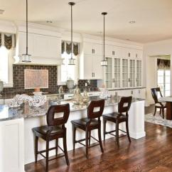 Kitchen Island Stool French Country Designs Bar Chair Options Hgtv Pictures Ideas Large With Eat In Breakfast